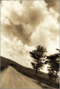 """Thea Schrack Photographs - Black and White: Sepia Toned:"""" Going Home"""""""