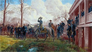 "Mort Künstler Hand Signed and Numbered Limited Edition Print:""Respect of an Army"""