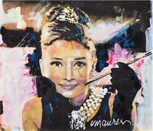"""Sidney Maurer Limited Edition Gouttelette Print on Paper:""""Eternal Elegance"""""""