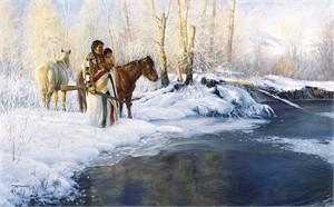 "Robert Duncan Limited Edition Print:""First Winter """