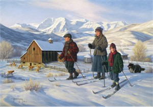 """Robert Duncan Handsigned & Numbered Limited Edition Print:""""Soldier Hollow """""""