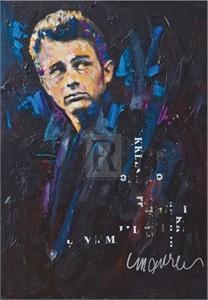 """Sidney Maurer Limited Edition Gouttelette Print on Paper:""""Rebel"""""""