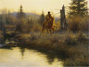 """Robert Duncan Limited Edition Giclee on Canvas:""""Spring Morning"""""""