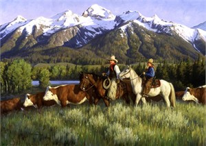 "Robert Duncan Limited Edition Giclee on Canvas:""The Best of Days"""