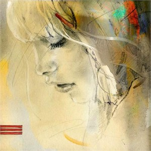 """Anna Razumovskaya Hand Signed and Numbered Limited Edition Artist Embellished Canvas Giclee: """"Scent Of a Woman 3"""""""