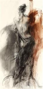 "Anna Razumovskaya Hand Signed and Numbered Limited Edition Artist Embellished Canvas Giclee: ""Aurora 1"""