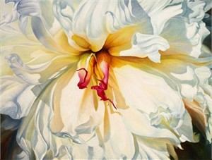 """Ludmila Yudina Hand Signed and Numbered Limited Edition Artist Embellished Canvas Giclee: """"Spring Dreams"""""""