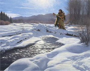 """Robert Duncan Hand Signed and Numbered Limited Edition Canvas Giclee:""""The Provider"""""""