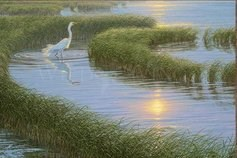 "Karen Noles Handsigned and Numbered Limited Edition Giclee Canvas: ""Time to Gather"""