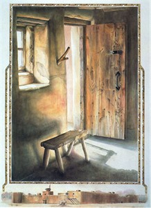 "Jan Swizer Handsigned and Numbered Limited Edition: ""Shadows of the Past"""