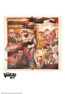 "Adult Swim Studio Art Giclee Print (Paper): ""Venture Brothers Season Three"""