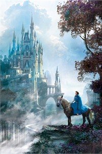 "Stephan Martiniere Disney Limited Edition Giclee on Canvas: ""Belle Approaches"""