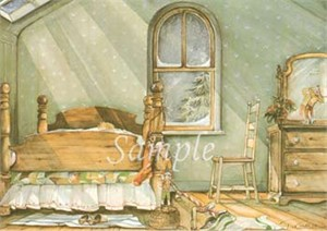 """Trisha Romance Hand Signed and Numbered Limited Edition Print """"Christmas Elves"""""""