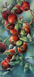 "Wanda Mumm Limited Edition Print: ""Ruby Crowns"""