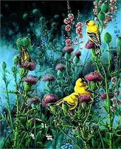 "Wanda Mumm Limited Edition Print: ""Wings of Gold"""