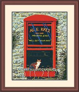 "Framed Art:""AL. E. Katz Limited Edition by Tom Neel"""