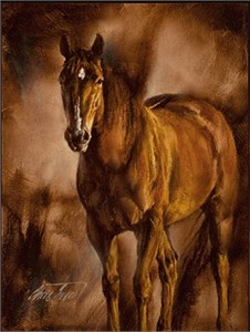 """Chris Owen Hand Signed and Numbered Limited Edition Giclee Print and Canvas :""""Contentment """""""