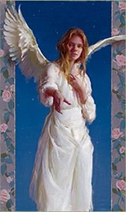 """Daniel F. Gerhartz Handsigned and Numbered Limited Edition Enhanced Giclee on Paper with Silkscreen Varnishes :""""A Vision"""""""