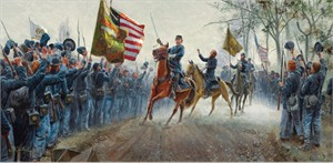 "Mort Künstler Hand Signed and Numbered Limited Edition Print:""Absolution Before Victory"""