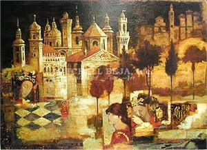 "Peter Nixon Limited Edition Serigraph on Paper: "" Arcadia """