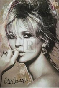 "Sidney Maurer Limited Edition Gouttelette Print on Paper:""On Trend"""