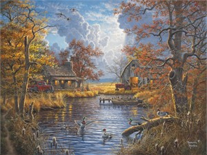 """Abraham Hunter Hand Signed and Numbered Limited Edition Embellished Canvas Giclee:""""A New Beginning"""""""