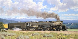 """Tucker Smith Hand Signed Limited Edition Anniversary Giclée Canvas:""""The Challenger"""""""