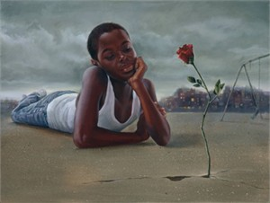 "Kevin A. Williams (WAK) Signed and Numbered Limited Edition Print:""Still I Rise"""