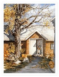 "Trisha Romance Limited Edition Grand Romance Canvas:""The Root Cellar"""