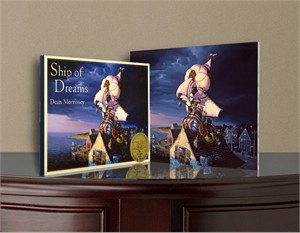 "Dean Morrissey Limited Edition Canvas With Book: ""Ship of Dreams"""
