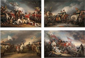 "John Trumbull Open Edition Giclee Suite of 4:""Paintings of the American Revolution"""