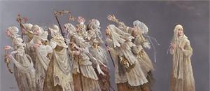 "James Christensen MasterWork Limited Edition Artist Proof Canvas Giclee:""Ten Lepers"""