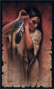 "Lee Bogle Hand Signed and Numbered Limited Edition Canvas Giclee:""Before the Ceremony"""