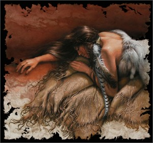 "Lee Bogle Hand Signed and Numbered Limited Edition Canvas Giclee:""Daydreams """