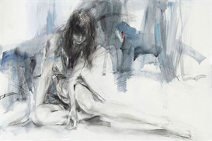 "Anna Razumovskaya Hand Signed and Numbered Limited Editiion Embellsihed Canvas Giclee:""Nothing Is Forgotten"""
