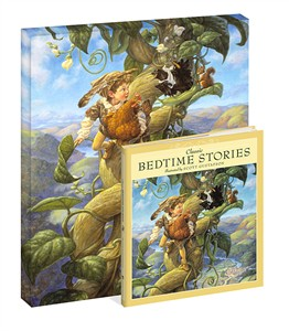 "Scott Gustafson Artist Signed Classic Bedtime Stories Gift Set::""Jack and the Beanstalk """