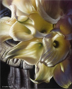 "Collin Bogle Handsigned and Numbered Limited Edition :""Light & Lilies"""