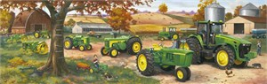 "Charles Freitag Hand Signed and Numbered Limited Edition Print: ""Legacy of John Deere"""