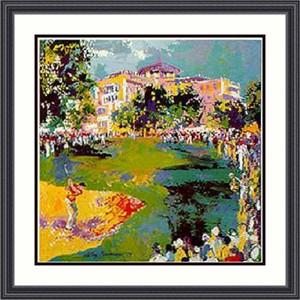 """Leroy Neiman Framed Art Print:""""Westchester Golf """""""