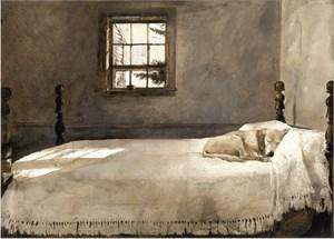 "Andrew Wyeth Framed Art: ""Master Bedroom"" (Free Shipping)"