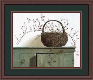 """Pauline Campanelli Framed Art: """"Wild Roseberries"""""""