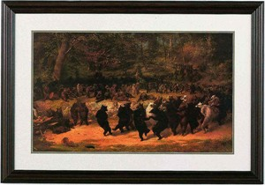 "Framed Prints:""The Bear Dance"" by William Beard"