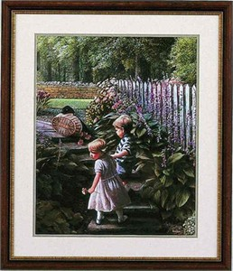 "Kevin Daniels Hand Signed and Numbered Limited Edition Framed Print: ""Hand n' Hand"""