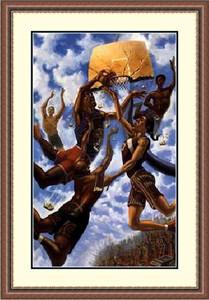 "Justin Bua Framed Art Print:""In the Sky  """