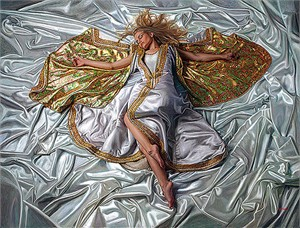 "Douglas Hofmann Hand-signed Limited Edition Serigraph on Canvas:""Angel of Light"""