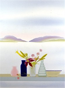 "Osborne Handsigned and Numbered Limited Edition :Serigraph on Paper:""August Still Life"""