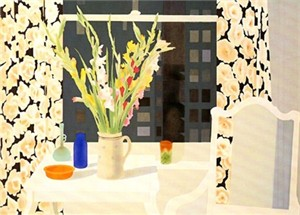 "Osborne Handsigned and Numbered Limited Edition :Serigraph on Paper:""Evening Still Life"""