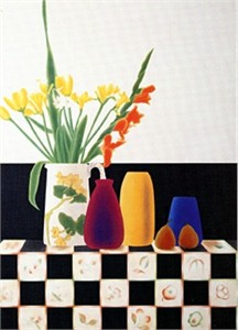 "Osborne Handsigned and Numbered Limited Edition :Serigraph on Paper:""Rookwood Still Life II"""