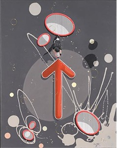 "Philippe Bertho Artist Hand Signed and Numbered Limited Edition Hand-Crafted Lithograph: ""Non Sens"""