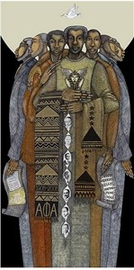 """Charles Bibbs Hand Signed and Numbered Limited Edition: """"The Brotherhood"""""""